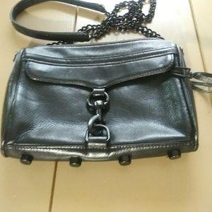 Rebecca Minkoff Black Crossbody Bag 6 X 8.5